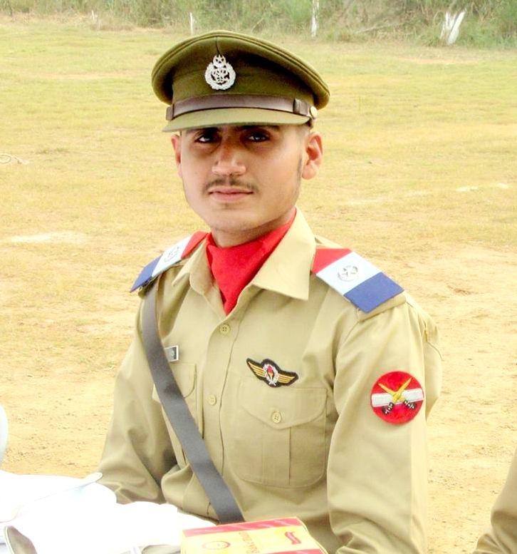 Pilot Officer Shahzaib Gulshan
