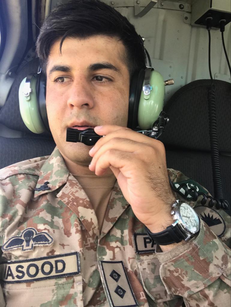 Lt Masood Khan